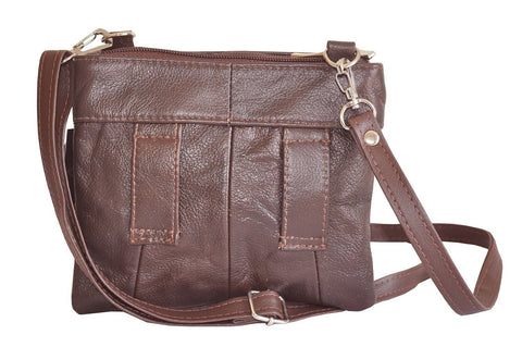 Women's Quality Genuine Leather Cross-Body Bag
