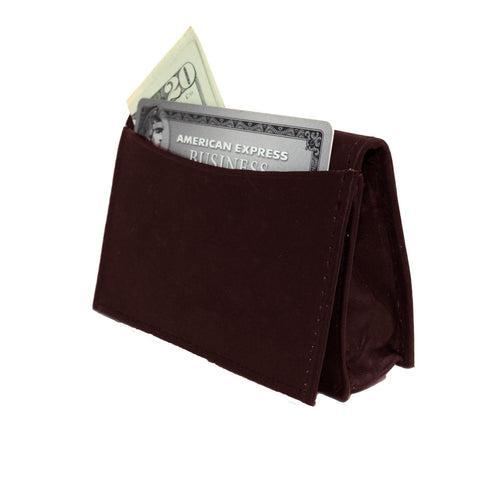 Genuine RFID-Blocking Best Business Card Holder Leather Card Case Excellent Designer - Burgundy
