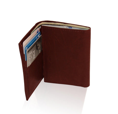 Genuine RFID-Blocking Best Genuine Leather Tri-fold Wallet For Men - Brown - WholesaleLeatherSupplier.com  - 12