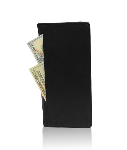 Genuine RFID-Blocking Men's Leather Bifold Wallet Organizer Checkbook Card Case - Tan - WholesaleLeatherSupplier.com  - 9