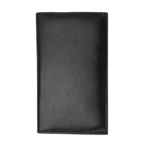 Genuine RFID-Blocking Premium Soft Leather Men Wallet - Black - WholesaleLeatherSupplier.com  - 4