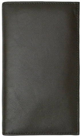 Genuine RFID-Blocking Premium Soft Leather Men Wallet - Black - WholesaleLeatherSupplier.com  - 7
