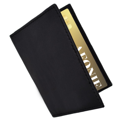 RFID Blocking Thin Premium Leather Wallet