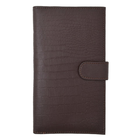 Croco RFID Long Secure Credit Card Holder