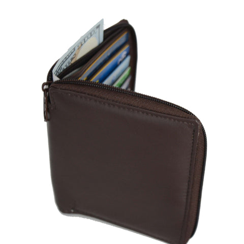 Deluxe RFID-Blocking Genuine Leather European Style Wallet - Black - WholesaleLeatherSupplier.com  - 5