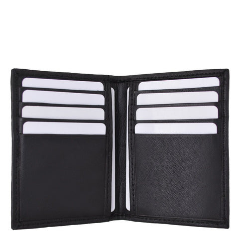 RFID Leather Wallet Bifold Credit Card ID Holder