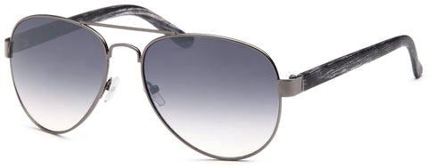 Modern Aviator Thick Frame Sunglasses -Pack of 4