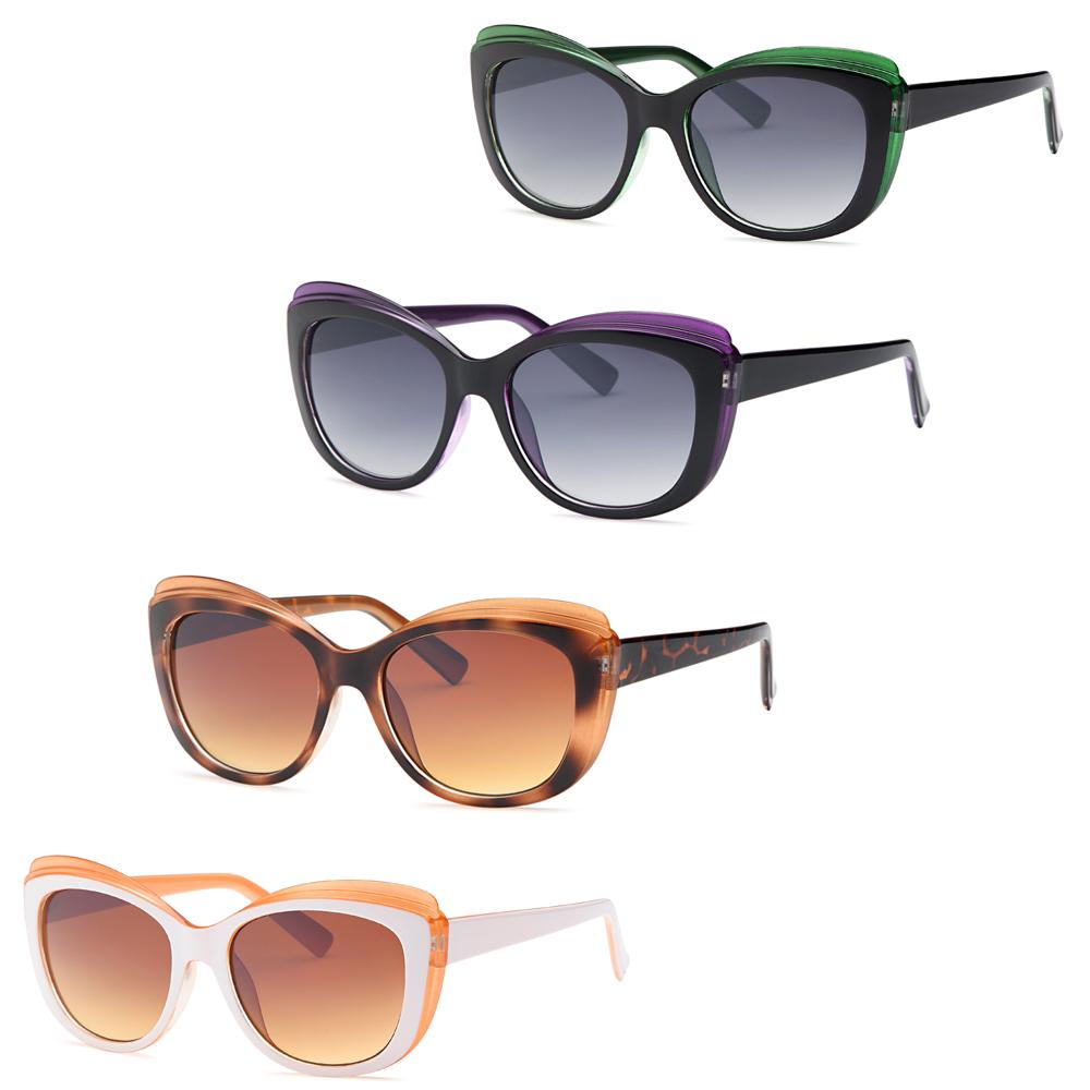 Cat Rye Fashion Style Sunglasses - Pack of 4
