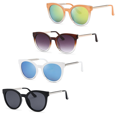 AFONiE Clear Sunglasses - Pack of 4