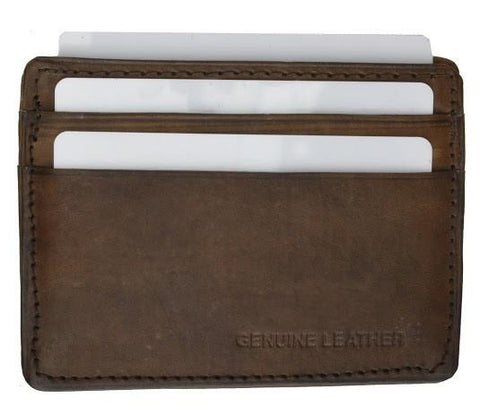 Slim Leather Wallet - WholesaleLeatherSupplier.com  - 8