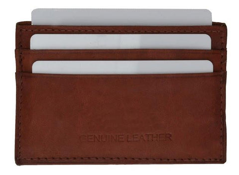 Slim Leather Wallet - WholesaleLeatherSupplier.com  - 10