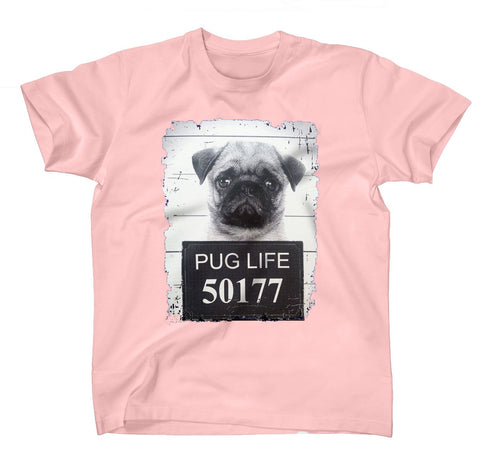 Pug Jail Life Women T-Shirts