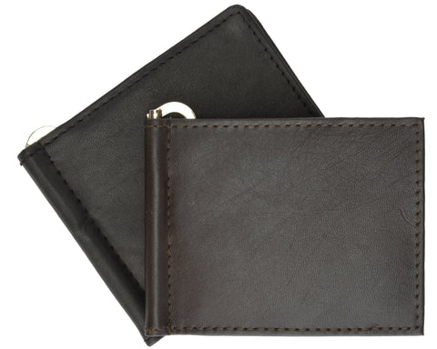 AFONiE Thin Leather Money Clip