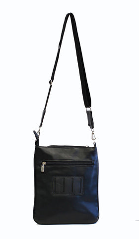 Unisex Genuine Leather Cross-Body Bag