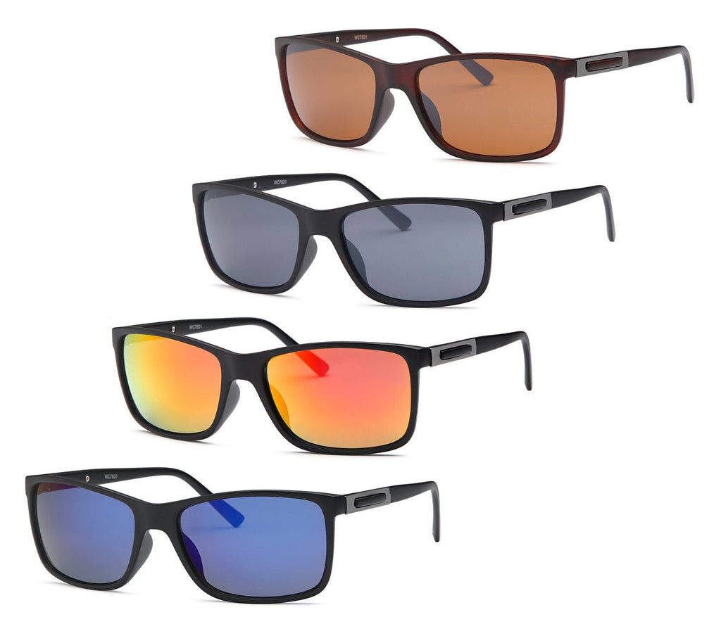 AFONiE Fire Eyes Men Sunglasses 4 Pack