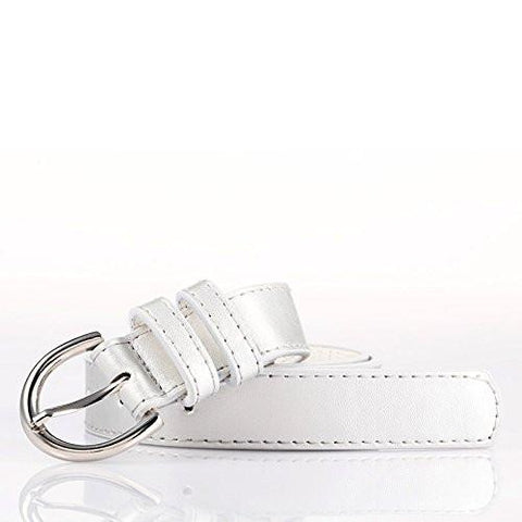 "Luxury Slim Belt 1.25"" W - Black Color - WholesaleLeatherSupplier.com  - 30"