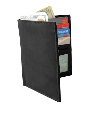 Deluxe RFID-Blocking Soft Genuine Leather Bifold Wallet For Men - Brown - WholesaleLeatherSupplier.com  - 5