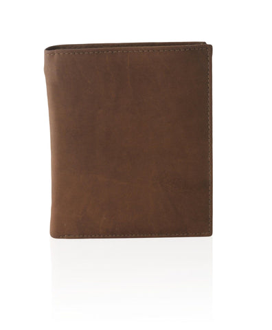Deluxe RFID-Blocking Soft Genuine Leather Bifold Wallet For Men - Brown - WholesaleLeatherSupplier.com  - 3