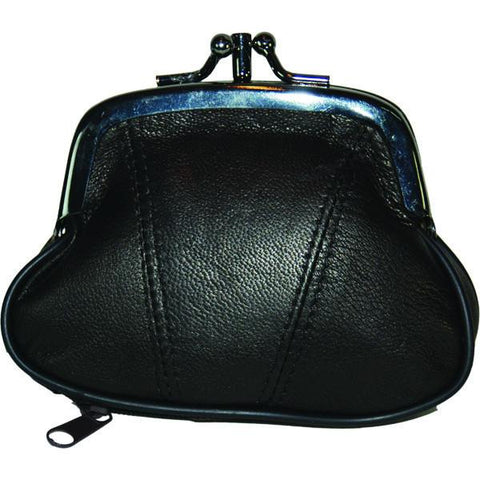 Wallet - Colors and Style Classic Leather Change Purse - WholesaleLeatherSupplier.com  - 4