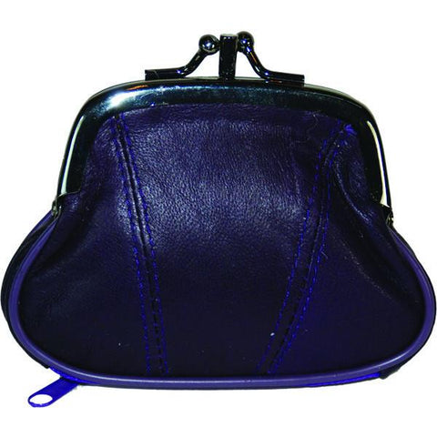 Wallet - Colors and Style Classic Leather Change Purse - WholesaleLeatherSupplier.com  - 5