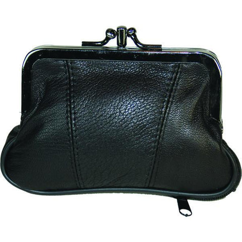 Leather Coins holder Wallet - WholesaleLeatherSupplier.com  - 2
