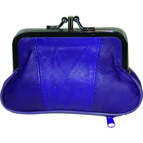 Leather Coins holder Wallet - WholesaleLeatherSupplier.com  - 1