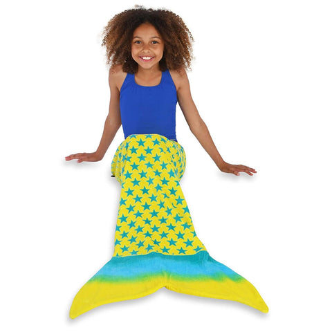 "Toweltails 100% Cotton Towel for Boys and Girls 55"" Long Perfect for The Beach Pool or Bath"