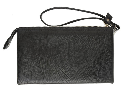 Genuine Leather Simple Women Wristlet - WholesaleLeatherSupplier.com  - 2