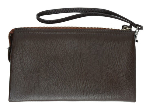 Genuine Leather Simple Women Wristlet - WholesaleLeatherSupplier.com  - 3