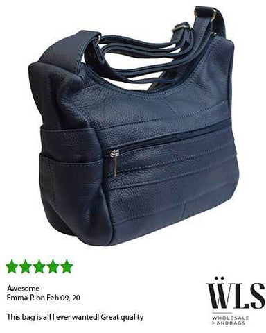 7 Compartments Leather Hobo Women Purse
