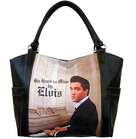 Licensed Elvis Presley Shopping Purse