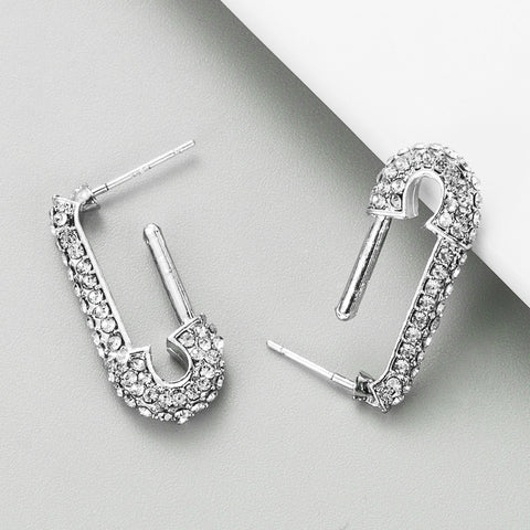 Safety Pin Studs Earrings