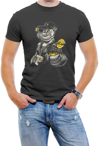 AFONiE Gangster Popeye Men T-Shirt