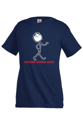 Haters Gonna Hate Kids Funny T-Shirt
