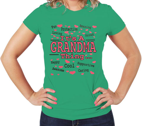 AFONiE It's A GRANDMA Thing Women t-shirt