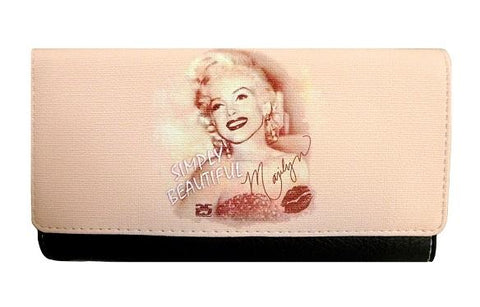 Licensed Marilyn Wallet Simply Beatiful