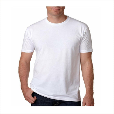 4Pack White Soft Cotton Short Sleeve T-Shirt for the Hot Summer