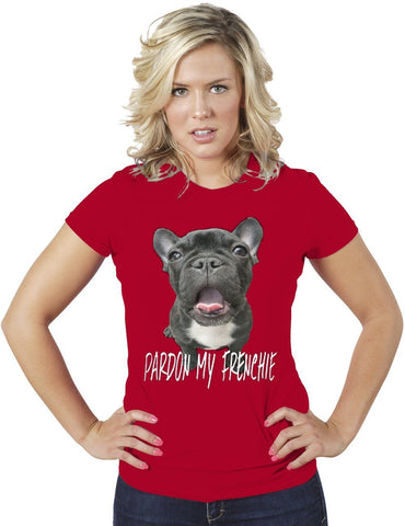 AFONiE Pardon My Franchie Funny Women T-Shirt