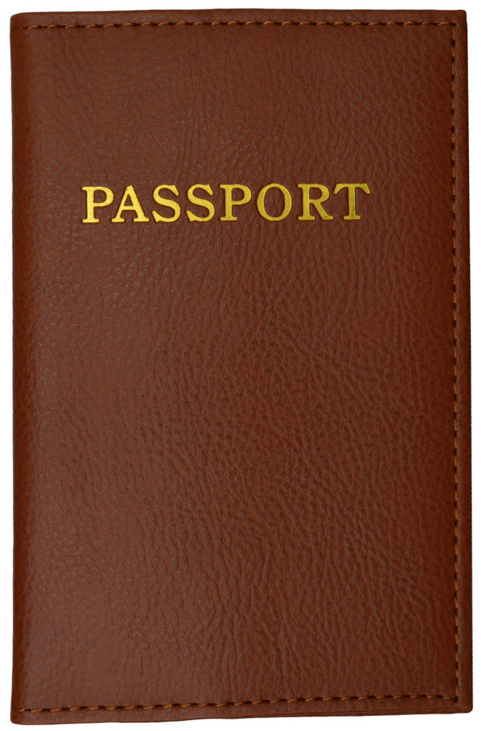Passport Holder - Brown - WholesaleLeatherSupplier.com  - 2