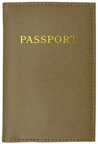Passport Holder - Brown
