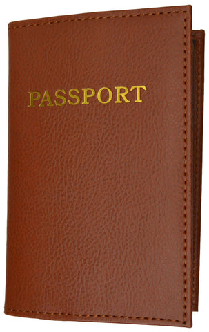 Passport Holder - Brown - WholesaleLeatherSupplier.com  - 18