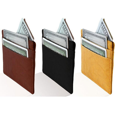 Slim Leather Wallet - WholesaleLeatherSupplier.com  - 11