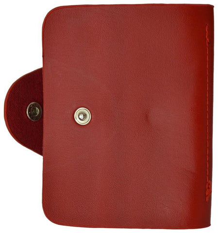 Soft  Durable Leather Credit Card Holder Assorted Colors - WholesaleLeatherSupplier.com  - 11