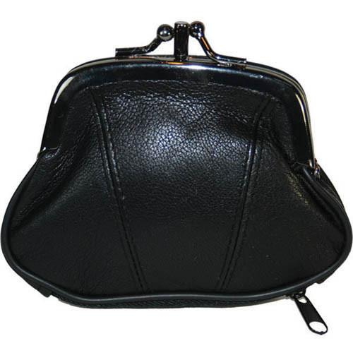 Wallet - Colors and Style Classic Leather Change Purse - WholesaleLeatherSupplier.com  - 1