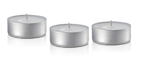 tealight candles made from our aluminium lip balm containers