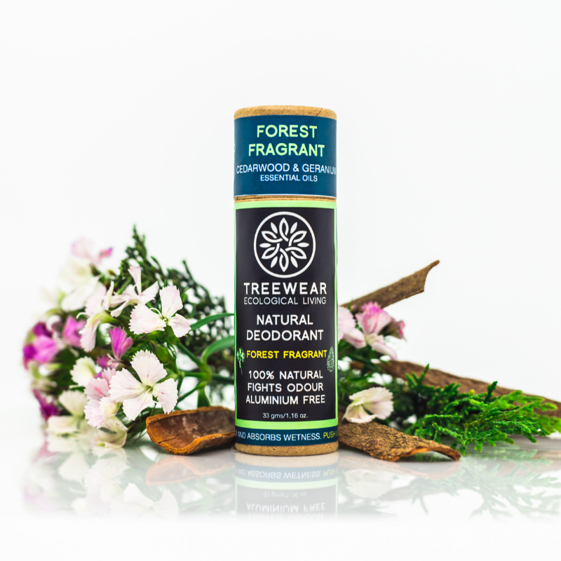 Natural Deodorant - Forest Fragrant - TreeWear - Ecological Living | Eco-friendly lifestyle products | 100% Natural | Sustainable | Tree Contribution