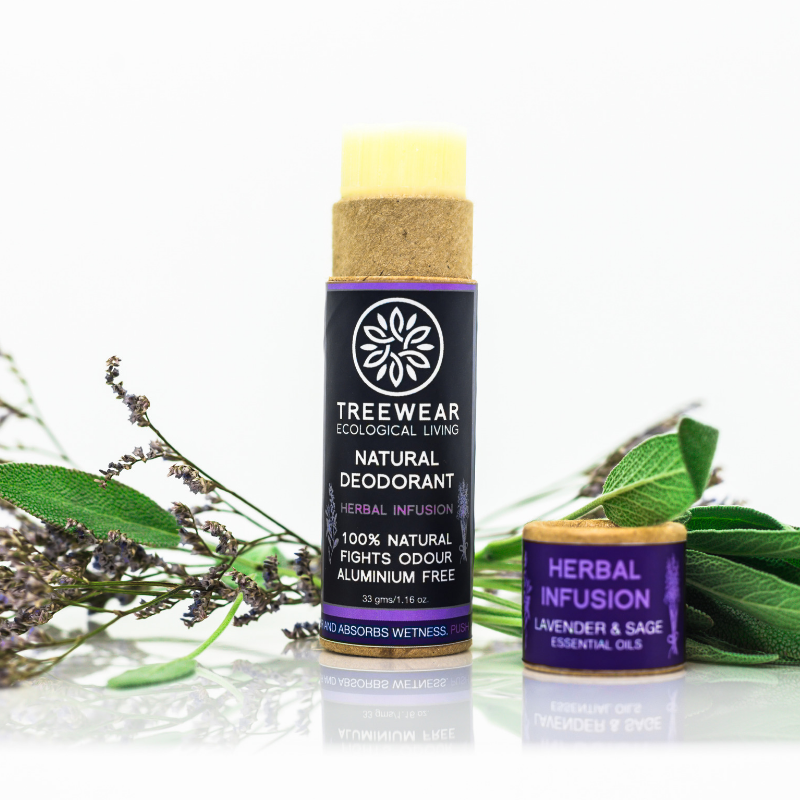 Natural Deodorant - Herbal Infusion - TreeWear - Ecological Living | Eco-friendly lifestyle products | 100% Natural | Sustainable | Tree Contribution