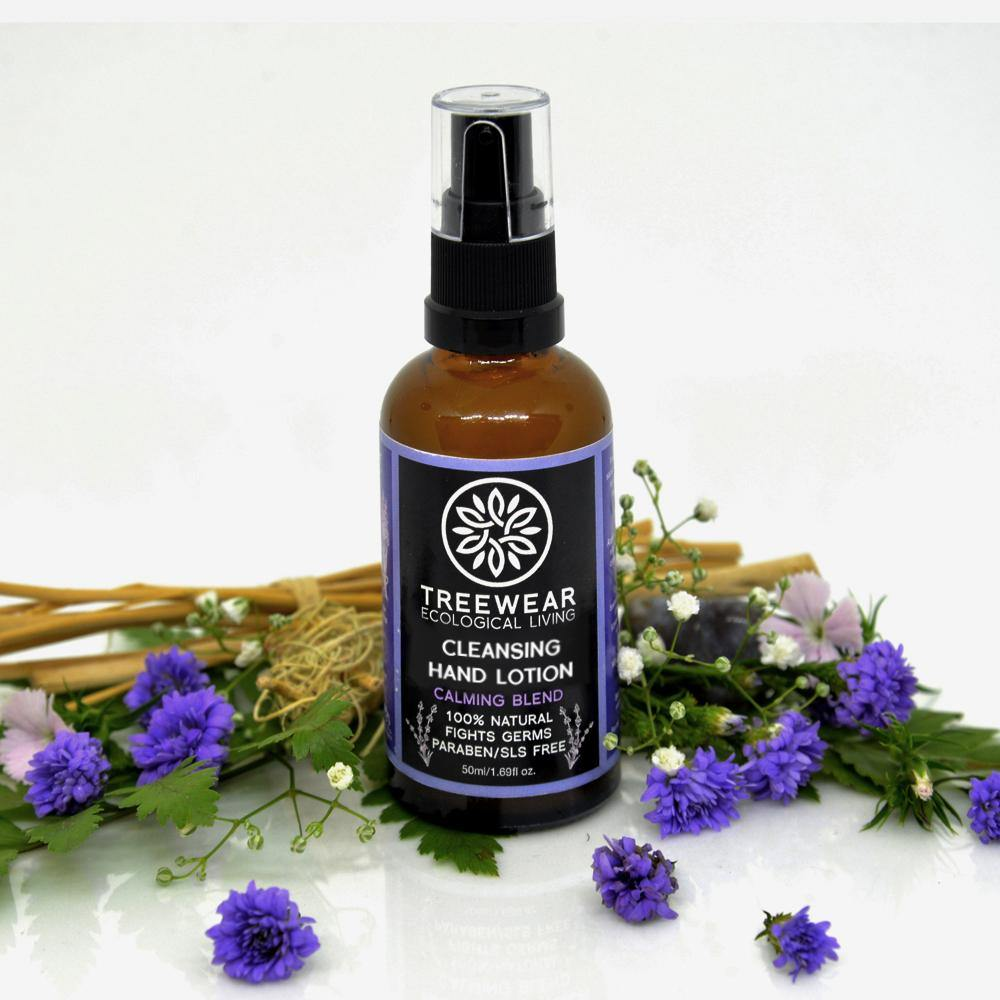 Natural Cleansing Hand Lotion - Calming Blend (50ml)