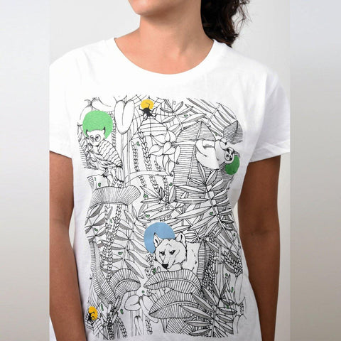 Women's Forest Print T-shirt