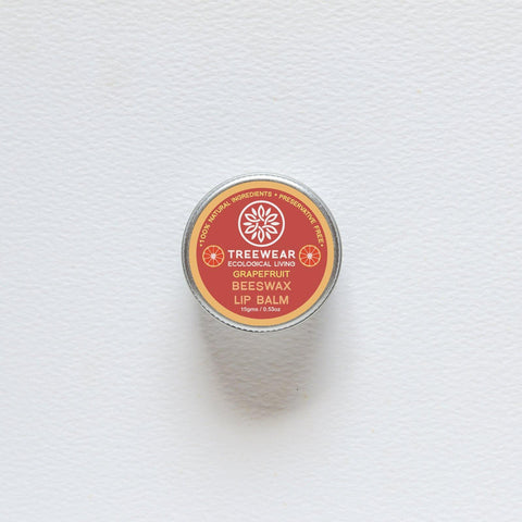 Natural Wax Lip Balm - Grapefruit